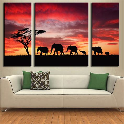 african american art great big canvas new style for 2016 2017 3 pcs set fashion modern wall painting combined paintings