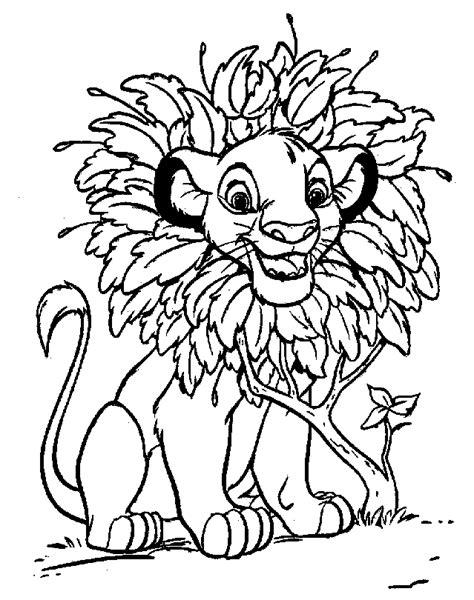 Lion King Pages To Color L L L L L L L L L L L