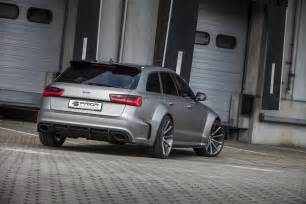 Audi A6 Tunning Audi Tuning Prior Design Pumps Up Audi A6 Avant And Rs6