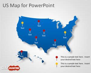 Free Usa Powerpoint Templates Free Ppt Powerpoint Backgrounds Slidehunter Com Powerpoint Us Map Template Free
