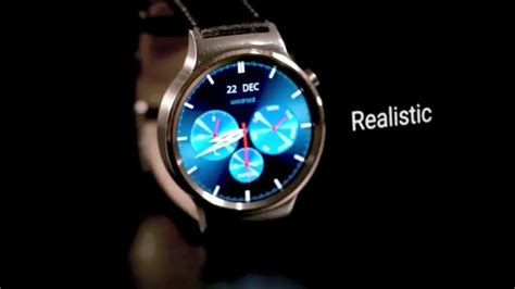 Android Wear Faces by Get Realistic Android Wear Faces With Weareal