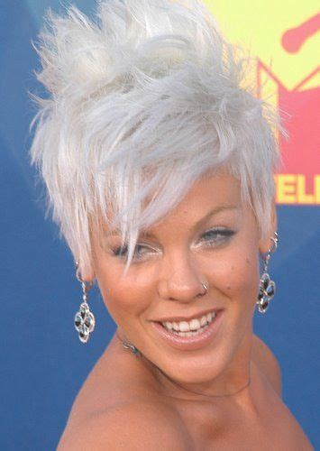 hairstyles grey hair funky best 25 short punk hairstyles ideas on pinterest edgy