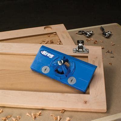 kitchen cabinet hinge jig kreg concealed hinge jig