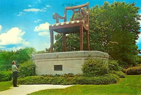 Big Chair In Thomasville Nc by 1000 Images About Vintage Roadside America Pt Ii On