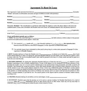 lease agreement template pdf sle rental lease agreement 9 free documents in pdf word