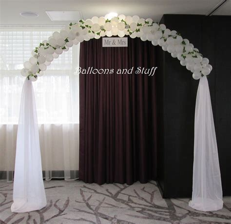 Wedding Balloon Arch    ALL BALLOONS in 2019   Wedding