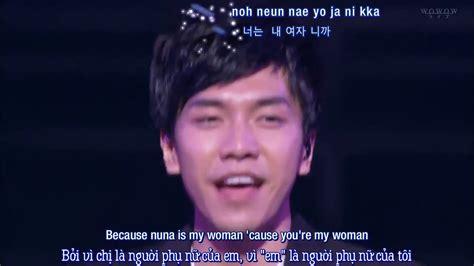 lee seung gi you re my woman viet eng kara because you re my woman lee seung gi