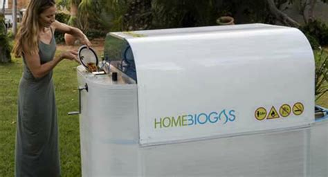 home sized biogas unit lets you convert your own organic