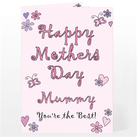 happy mothers day cards happy mother day cards 19 coloring kids