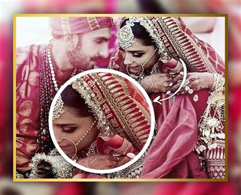 deepika padukone dupatta deepika padukone bridal dupatta is more popular than her