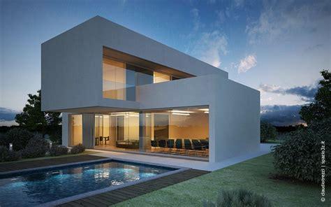 rendering casa render casa con piscina realizzato da claudio trezzi