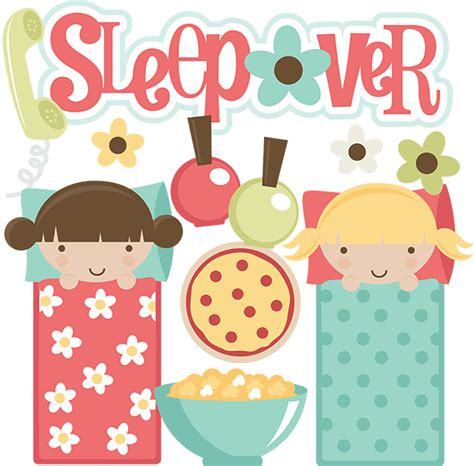 Sleepover Clipart sleepover svg files for scrapbooking sleepover clipart sleeepover clipart free svgs