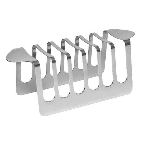 Toast Rack by Stainless Steel Toast Rack Drinkstuff