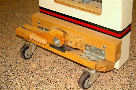 bench on casters build wooden diy workbench retractable casters plans download double computer desk plans