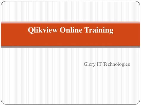 qlikview tutorial in hyderabad qlikview online training