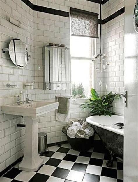 victorian black  white bathroom floor tiles ideas  pictures