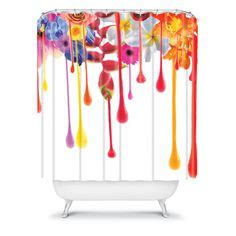 drips and drapes shower curtains on pinterest shower curtains products