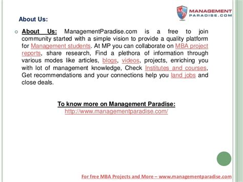 Mba Project Report On Warehouse Management by Bschool Project Report On Steel Industry Of Tata Iron