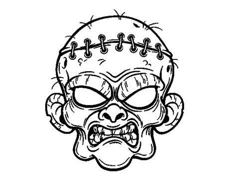dibujos para colorear zombies dibujo de zombis imagui