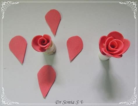 Handmade Roses Tutorial - cards crafts projects handmade foam flower