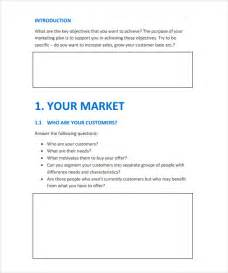 simple plan template sle marketing plan template 8 documents in pdf