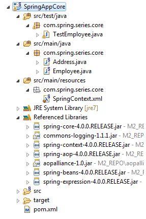 dependency injection setter method spring dependency injection using setter method