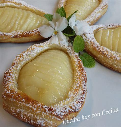 cocinar con hojaldre recetas faciles recetas f 225 ciles quot cocina hoy con cecilia quot peras en hojaldre