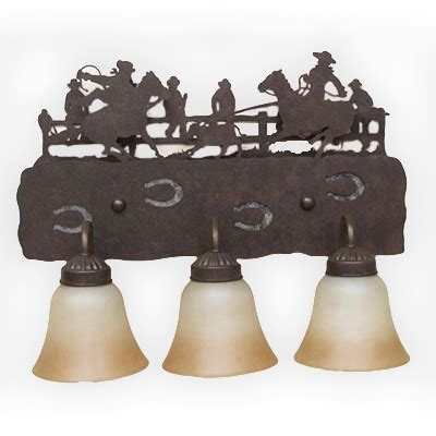Western Vanity Lights Copper Bf808 Western Bathroom Vanity Light Rustic Lighting Fans