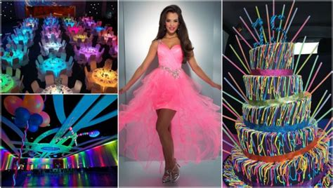 quinceanera themes glow in the dark the most unique quinceanera theme ideas we ve ever seen