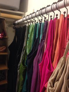 apartment closet tank tops ideas about make a closet on 1000 ideas about shower curtain hooks on pinterest