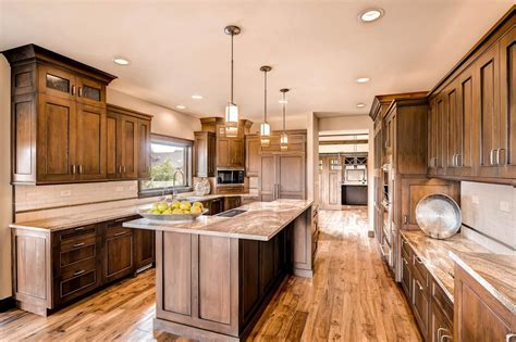 kitchen rustic home accessory design of dark brown love the rich brown cabinets not too dark and the cabinet