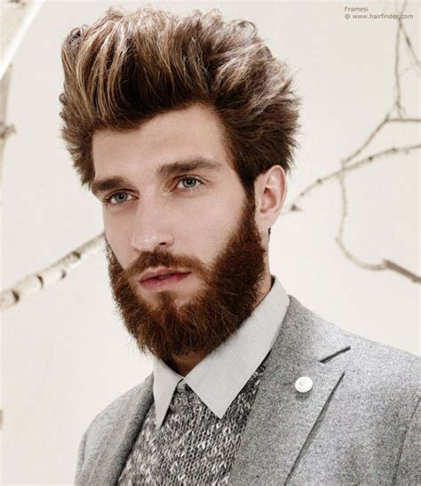 mens frosted hair full beard styles and tips on growing and styling full beard