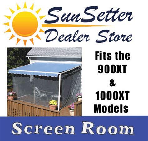 sunsetter screen room sunsetter screen room for 900xt 1000xt models canopy tent ebay