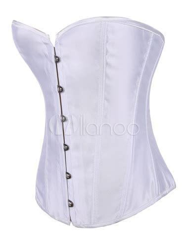 26158 Casual Dress elastic satin corsets milanoo