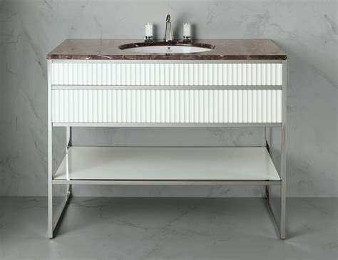 nella vetrina high end italian bathroom vanity white lacquer