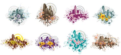 urban design flower clipart design usa urban art i