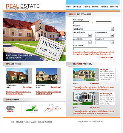 your home website template best website templates
