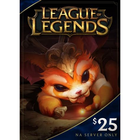 League Of Legends Gift Cards - league of legends gift card usd 25 digital