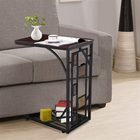 Diy Sofa Side Table With Glass Tops The Decoras Sofa Side Table Ideas