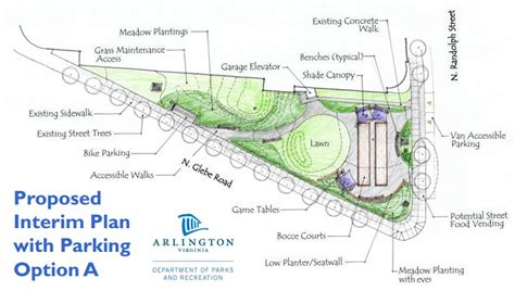 Garage Measurements Bocce Courts Proposed For Tiny Ballston Park Arlnow Com
