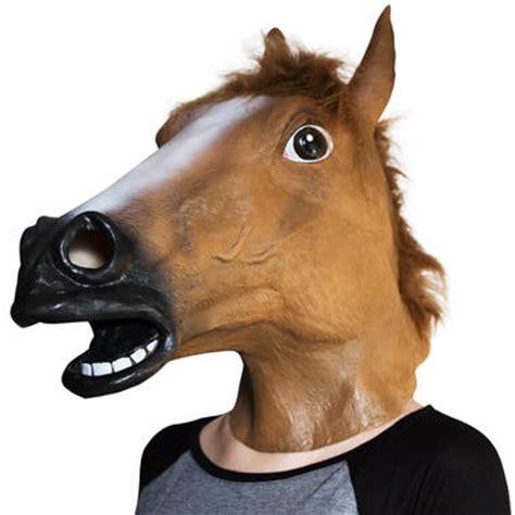 fake horse head horse mask getdigital