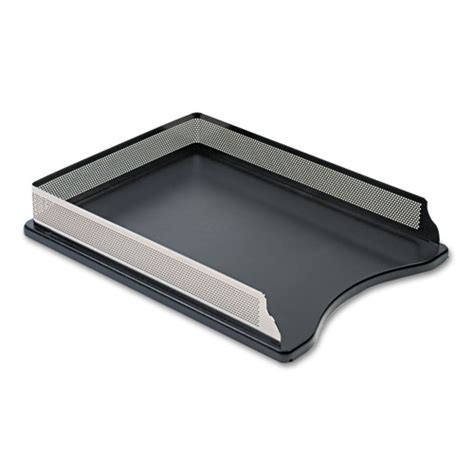 Desk Letter Trays by Rolodex E23565 Distinctions Self Stacking Letter Desk Tray
