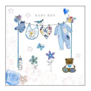 newborn baby boy greetings congratulations card