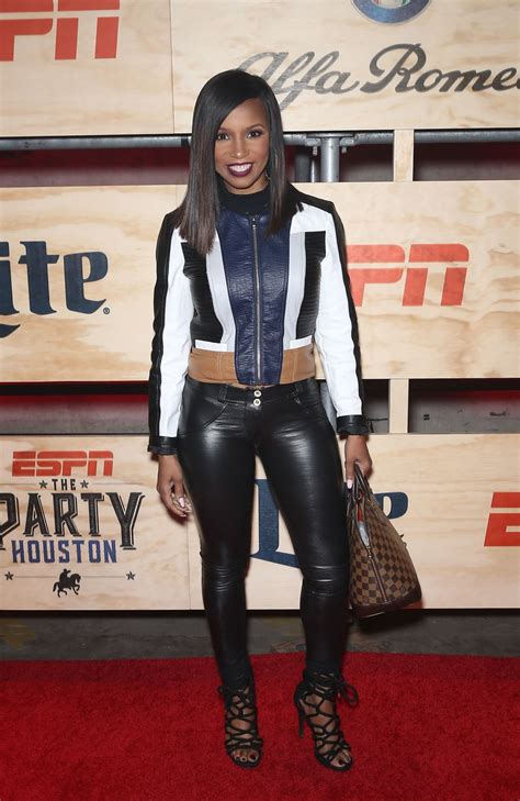 elise neal elise neal at 13th annual espn party in houston 02 03 2017