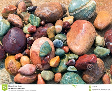 colorful stones colored stones stock photo image 43298245