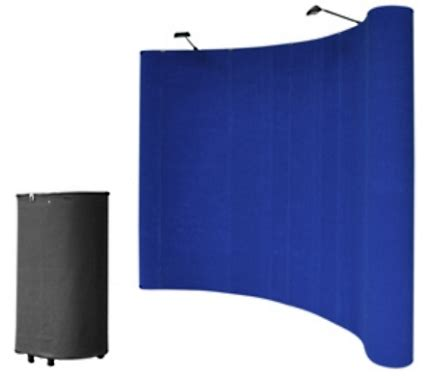 wholesale home decor trade shows 10 blue portable pop up trade show booth display kit w