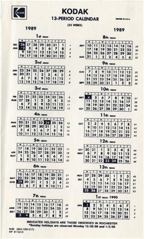 13 Month Calendar A 13 Month Calendar Creates Positive Externalities