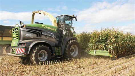 Big X krone unveils 1 156hp big x forager farmers weekly