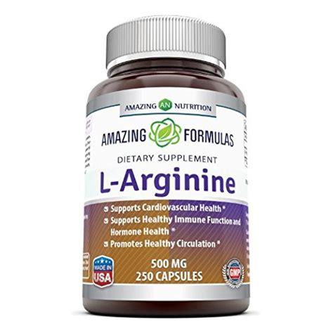 Suplemen Arginine amazing formulas l arginine 500 mg supplement best amino