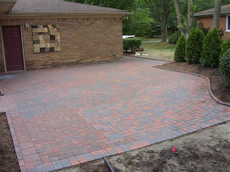 Brick Paver Patio Pictures Brick Patio Total Lawn Care Inc Lawn Maintenance Lawn Landscaping And Snow Removal